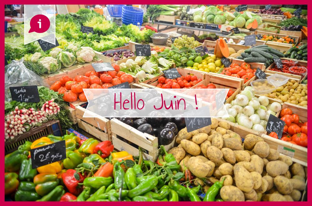 Légumes saison Juin