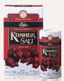 Keep it Kosher when it comes to salt.  Avoid iodize and use sea salt and a finishing salt