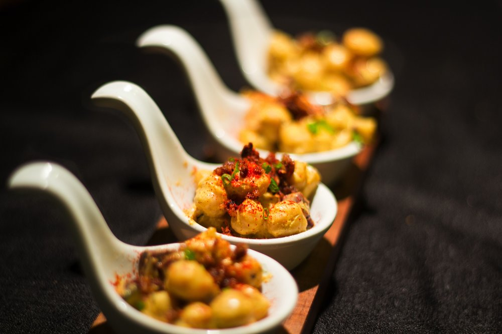 Heavy Hor D'oeuvres Menu