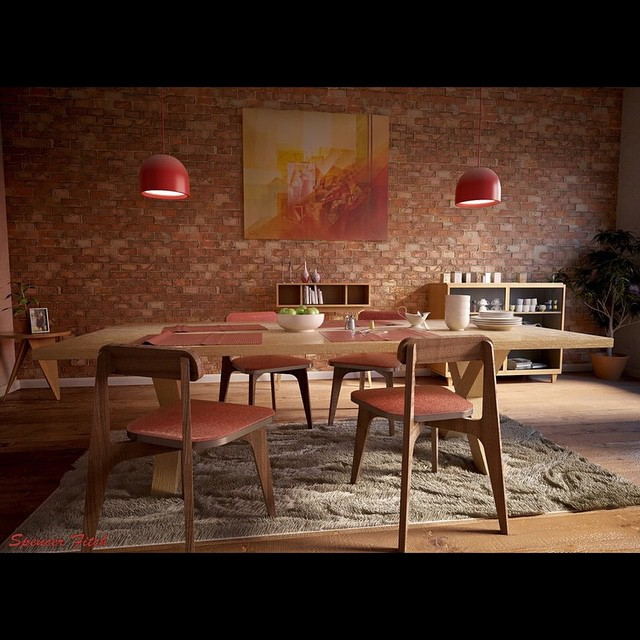 Made some adjustments to the room. Added more props and fixed the broken chair:) #maya  #fullsailuniversity #fullsail #art #archvis #vray #InstaSize