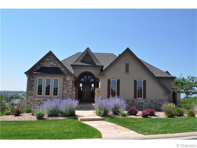 A spectacular custom home in beautiful Castle Pines