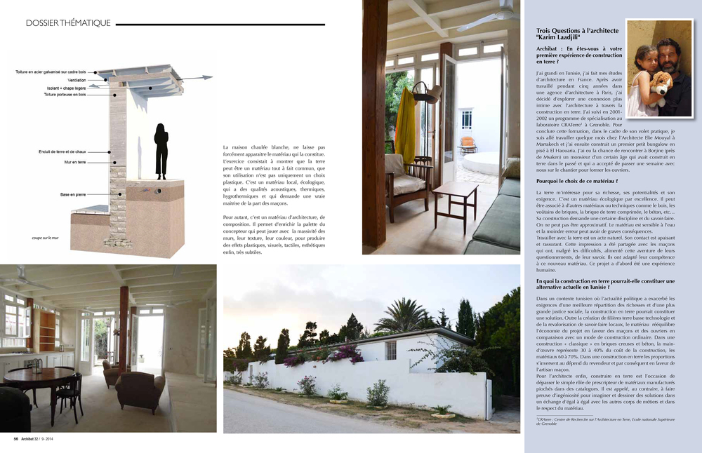 Article from Archibat Magazine (in French).
