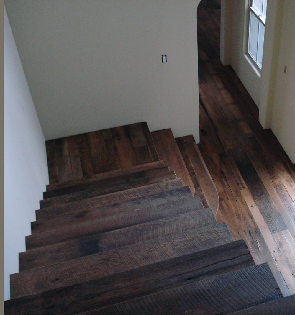 Reclaimed Oak Staircase