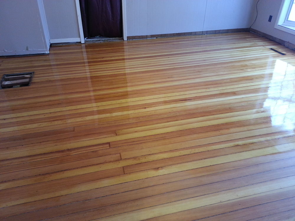 Wood flooring before and afters raven hardwood flooring for Before and after flooring