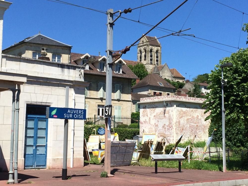 Gare Auvers sur Oise
