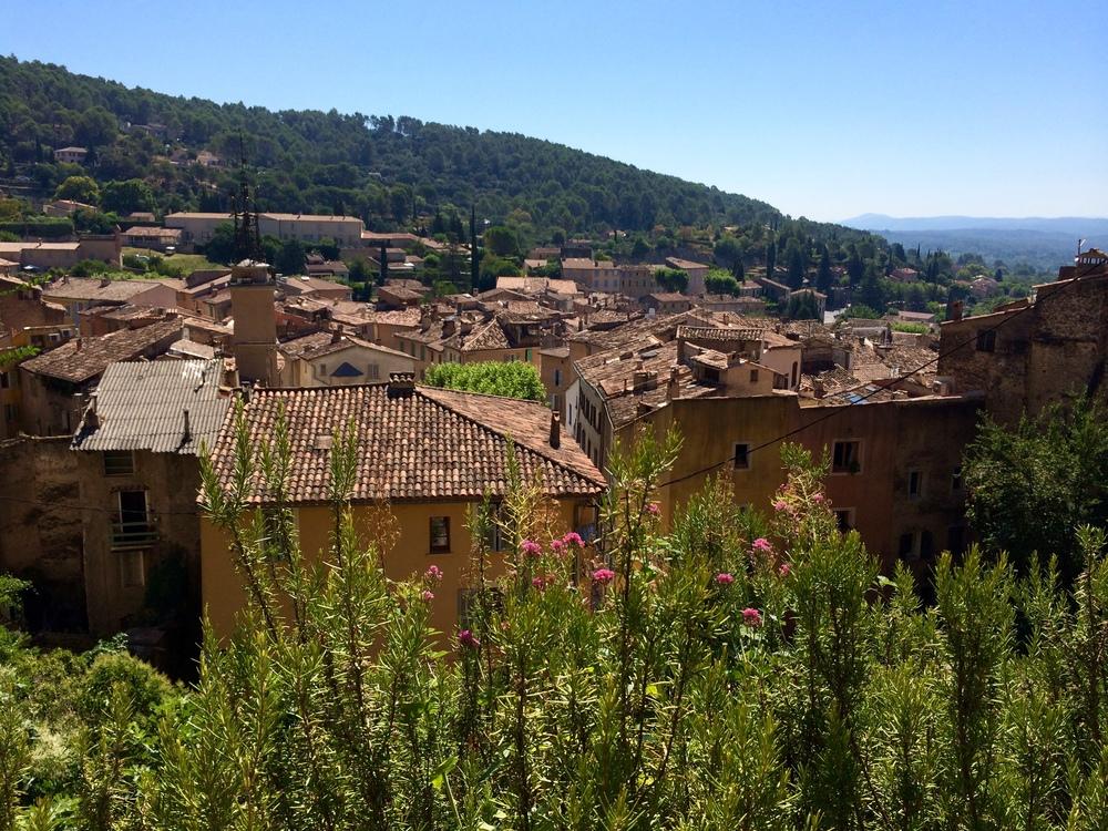 Rooftops in Cotignac