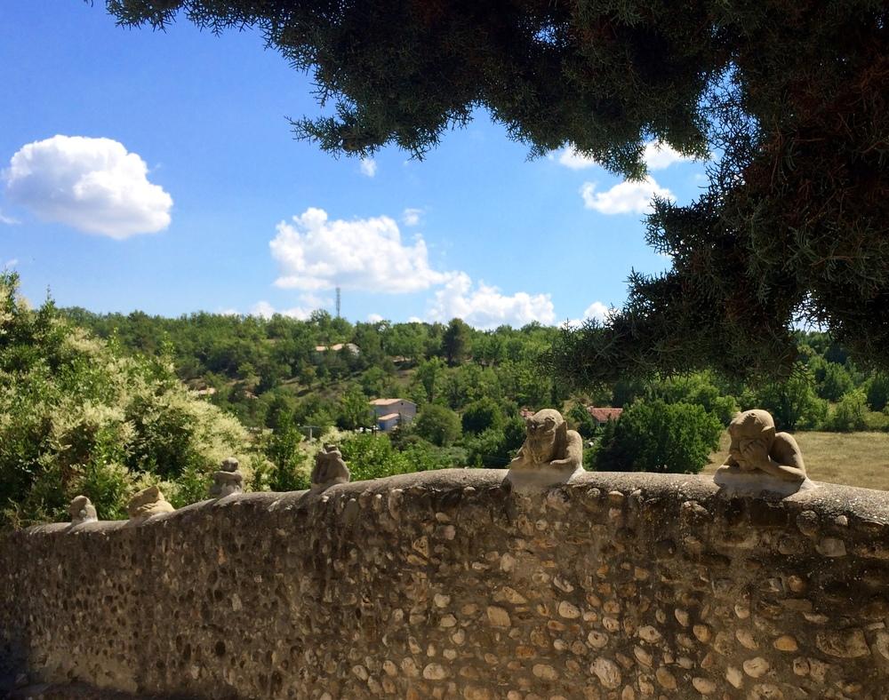 Gargoyles in Montagnac