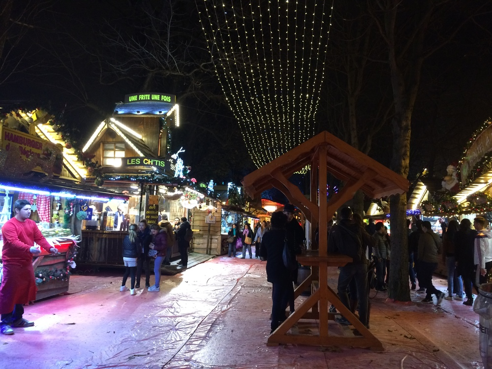 Christmas Market on the Champs Elysees