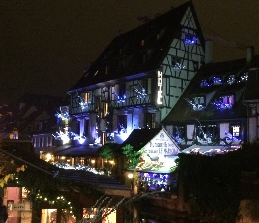 Very Christmasy in Colmar, France