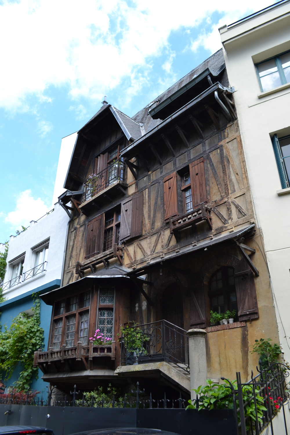 A 20th Century half-timbered house