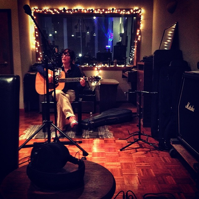 @katiebsongs in studio tonight making beautiful music