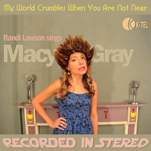 Our first piece of fan art is a take on @randilawson as Macy Gray, after her song in episode 1. We love receiving these! Thanks so much
