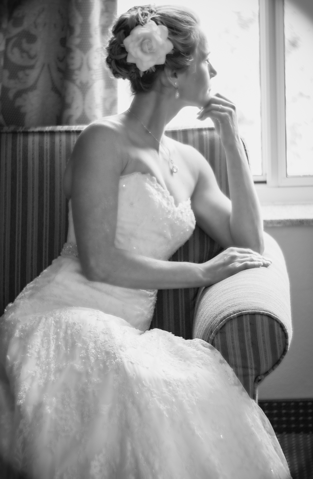 Our lovely Bride, Jean, who owned this moment in time. Photo Phrame Photography, Saratoga, NY