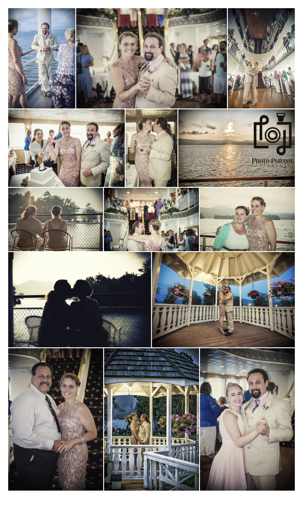 Professional Wedding Photography, Lake George, New York