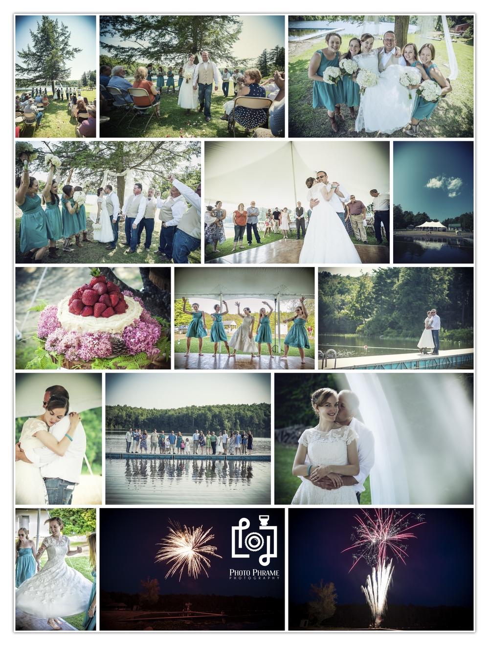 Country Wedding Photography, NY, VT, MA, VT, PA
