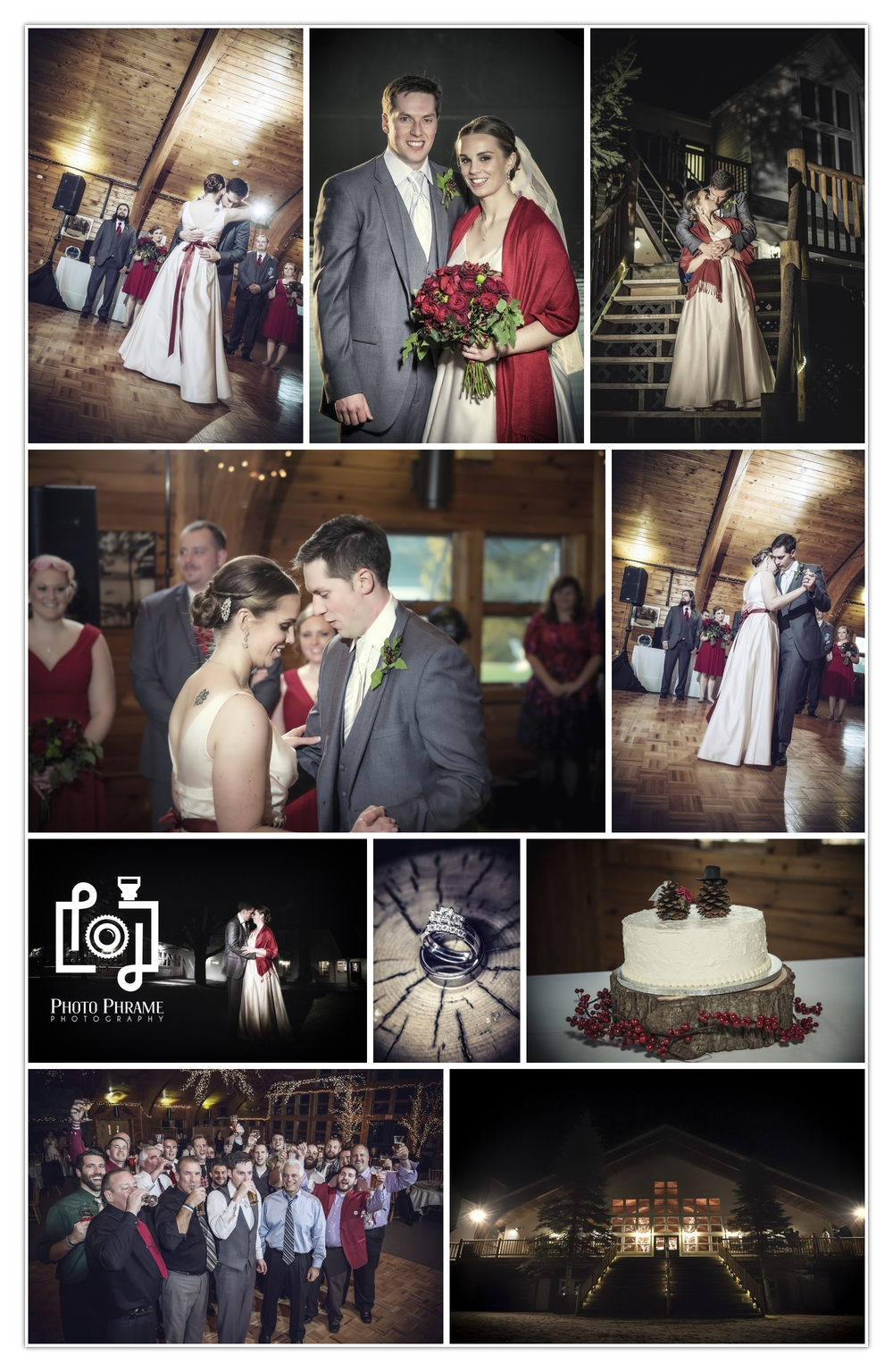 Epic Winter Wedding