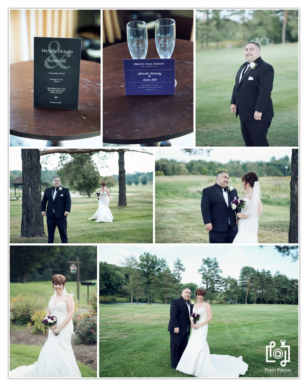 Shaker Ridge country club wedding