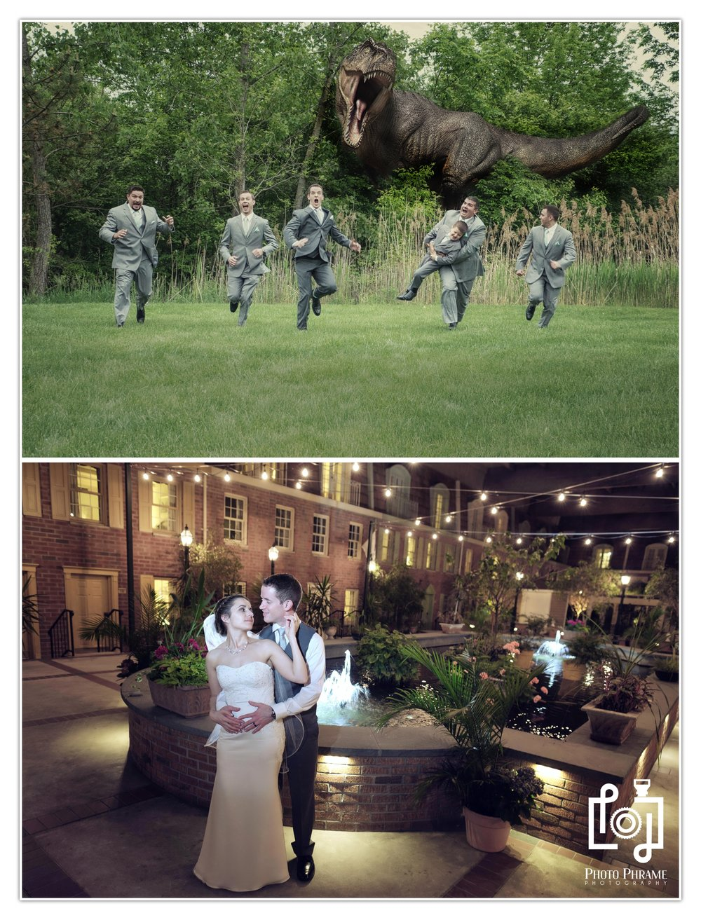 Jurassic park wedding photography