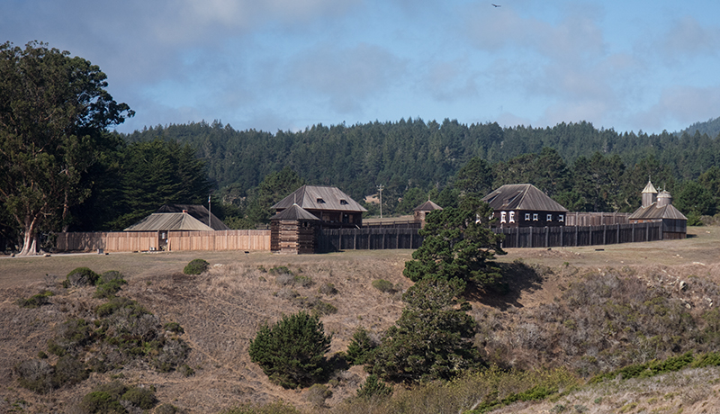 Fort Ross Photo by Francesca Scalpi