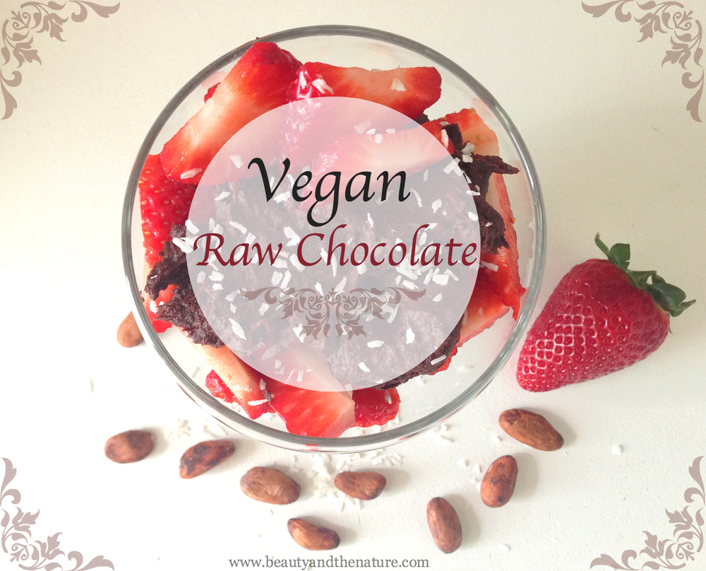 Vegan Raw Chocolate Beauty and The Nature