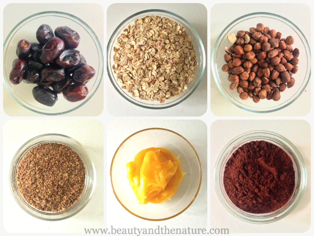 Beauty and the nature ingredients protein bars