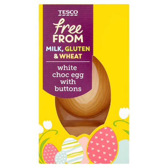 Tesco Free From White Chocolate Egg