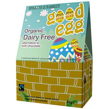 Holland & Barrett Good Life Dairy Free Easter Egg