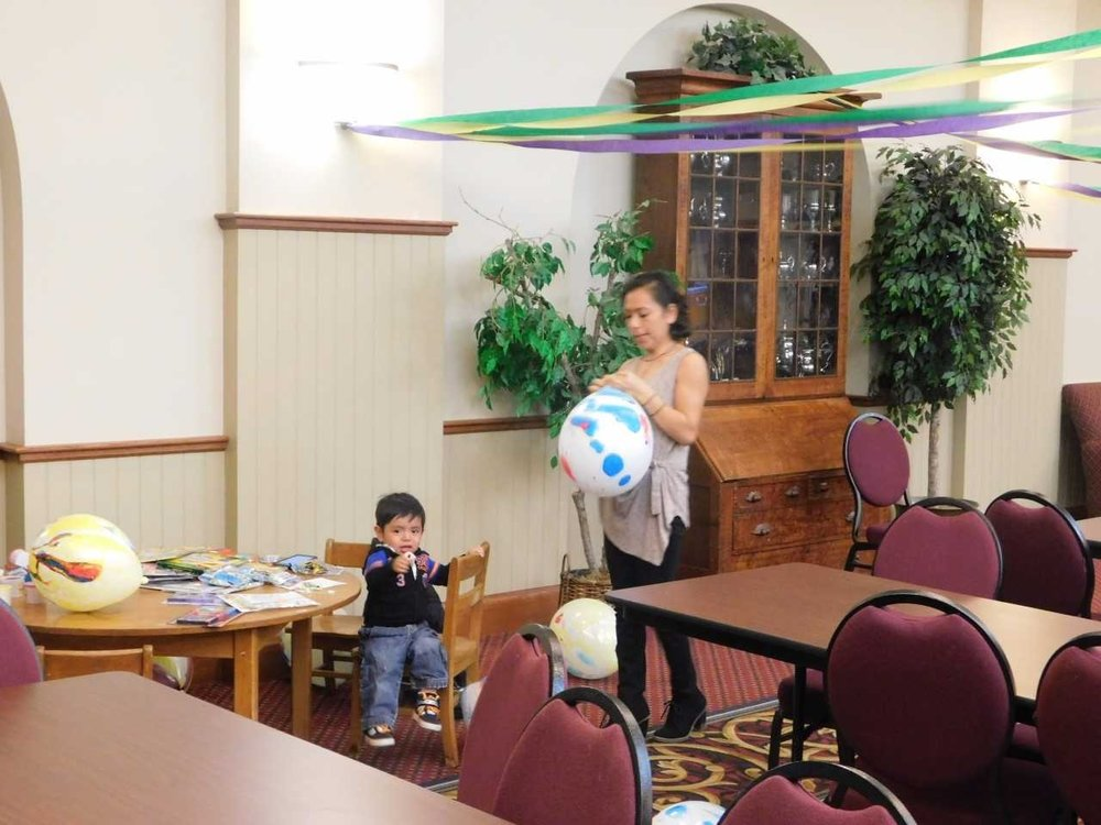 Rosa and baby and balloon.jpg