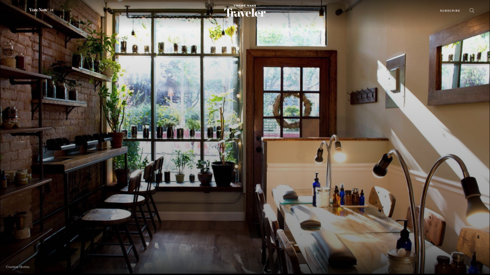 "photo: eneida cardona   Press:  Conde Nast Traveler    With its exposed brick walls, reclaimed wood details and lush greenery dotting the window frames, cozy nail salon  Hortus Nailworks  serves as an inviting respite from the hustle and bustle of its surrounding Lower East Side neighborhood. Stop in for one of their streamlined manicures (aptly named ""the New Yorker"") and opt for the high-shine buff ($15) if you want to skip out on the drying time of polish. Hortus also specializes in sugaring ($15-$165), a hypoallergenic, all-natural alternative to waxing that's great for all hair textures and even the most sensitive of skin types—perfect for clearing up any unwanted peach fuzz and being on your way without any lingering redness.  The following is placeholder text known as ""lorem ipsum,"" which is scrambled Latin used by designers to mimic real copy. Donec eu est non lacus lacinia semper. Phasellus sodales massa malesuada tellus fringilla, nec bibendum tellus blandit. Phasellus sodales massa malesuada tellus fringilla, nec bibendum tellus blandit."