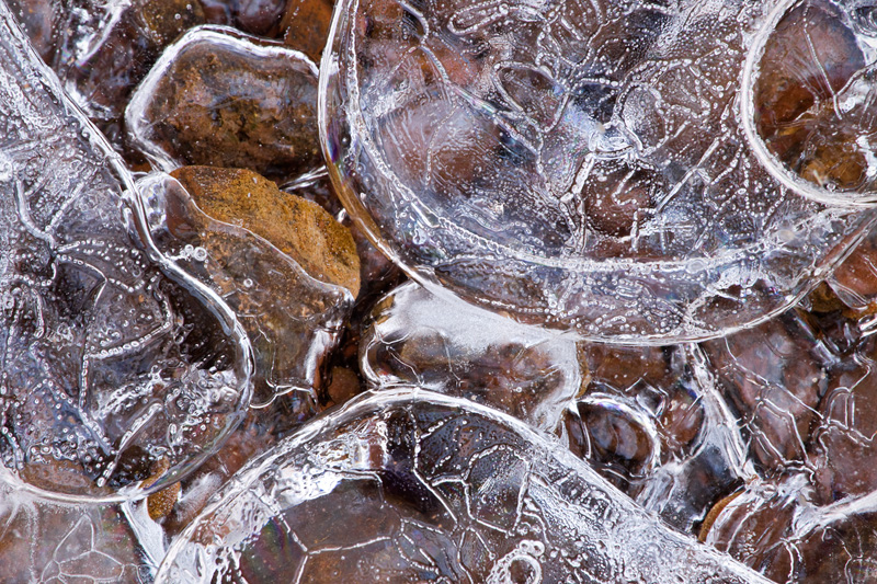 Ice and Rock, McKee-Beshers Wildlife Management Area, Maryland, United States.