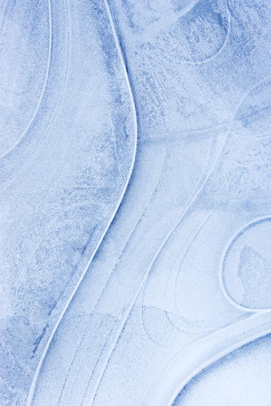 Ice Abstract, Bull Run Regional Park, Centreville, Virginia