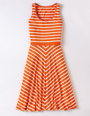 Firecracker dress, Boden. This striped jersey dress is sure to make your summer days even brighter.  Now 25% off .