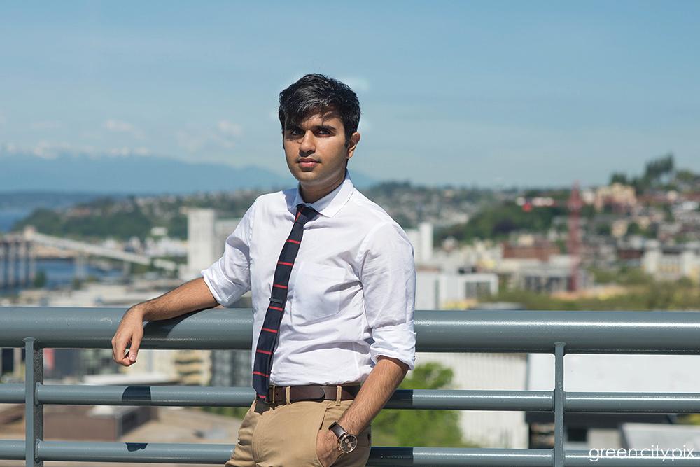 Prateek is working toward a career in renewable resources.