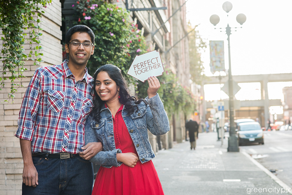 Perfect Together: These two have known each other since their high school days in India.