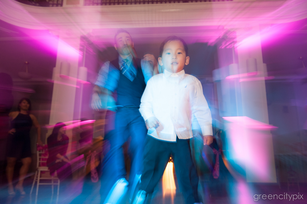We mean everybody! I love this zoom burst effect achieved by spinning the zoom ring while snapping the shutter. Photo by Tim Aguero.
