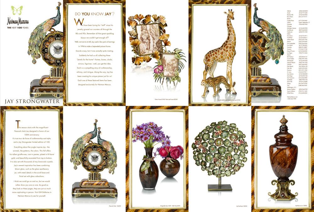 Wunderbar Jay Strongwater Bilderrahmen Galerie - Badspiegel Rahmen ...