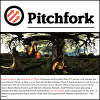 Shudder to Think's Craig Wedren Readies Solo Album and Companion Film...,  Pitchfork , Feb 18, 2011