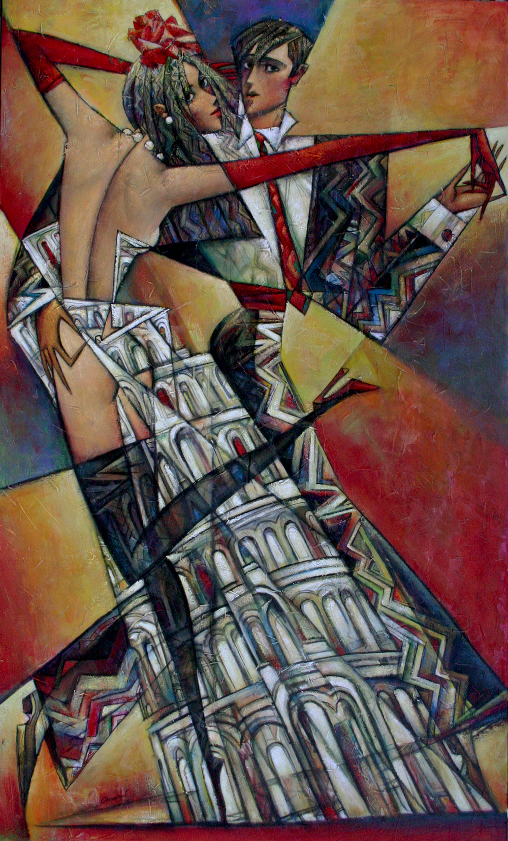 "New ""Leaning Romance""  SOLD"