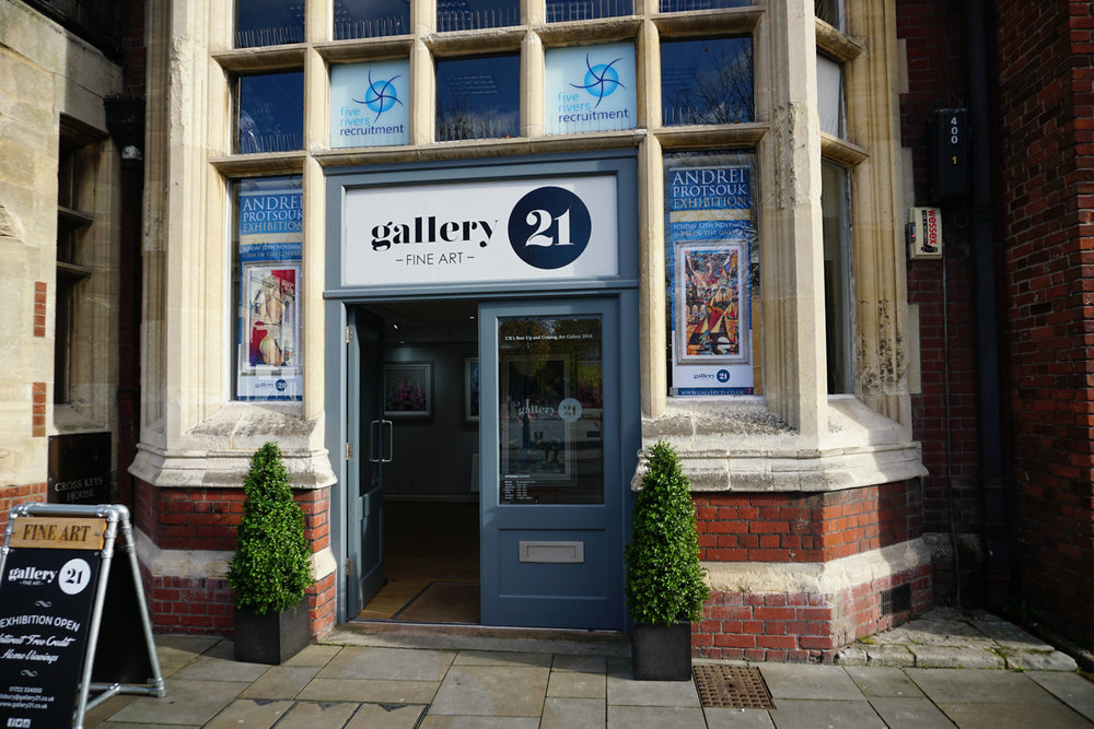 Gallery 21 Salisbury - England