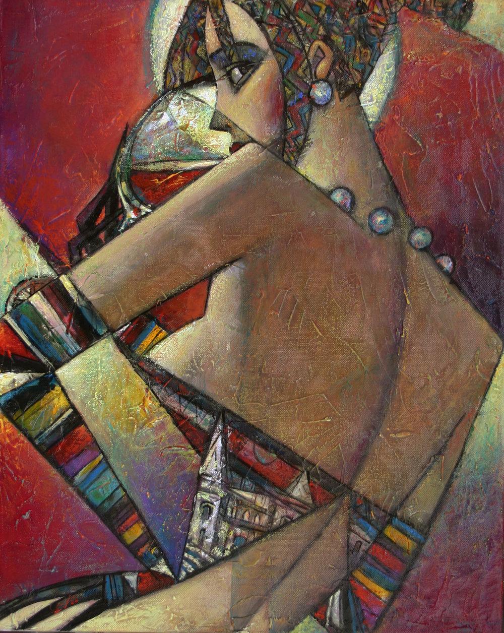"""""""Chateau Pierre de Lune"""" Oil on Canvas 20"""" x 16"""""""