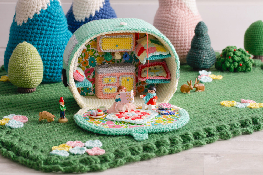 "Or you can find ""Let's Go Camping! Crochet your own Adventure"" here!"