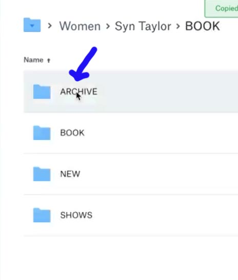 Step 2 select Archives folder.jpg
