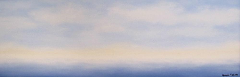 12 x 36, Oil on Linen
