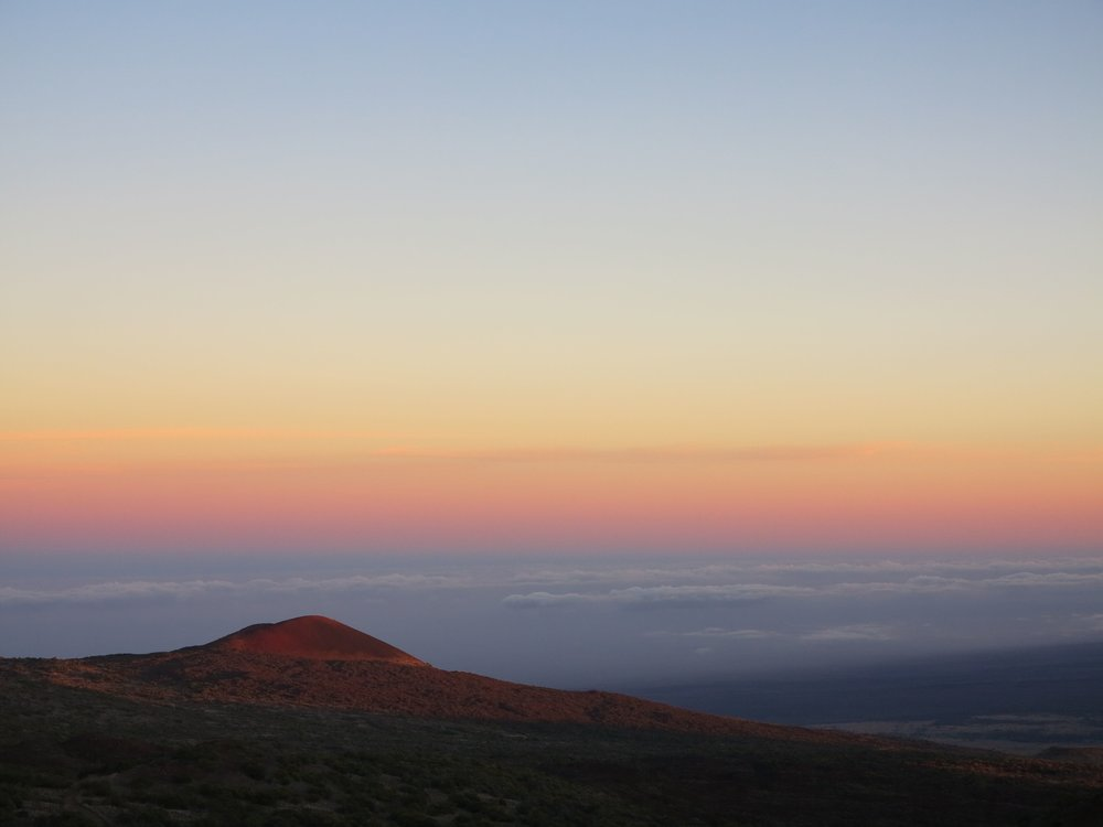 View from Mauna Kea