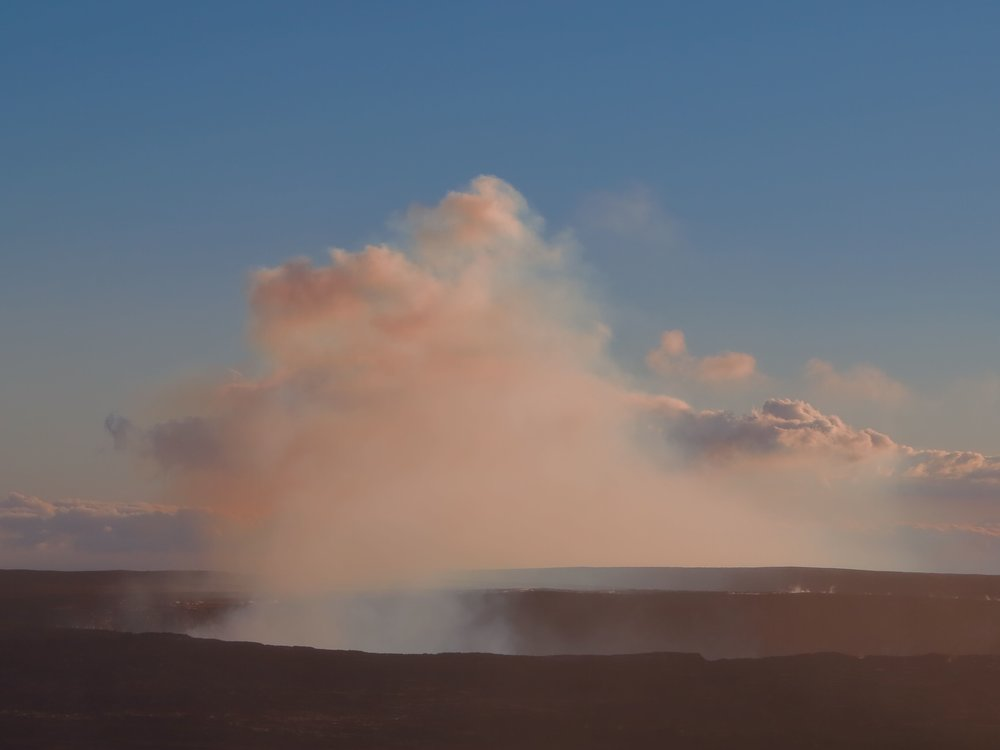 Halema'uma'u Crater, Hawaii Volcanoes National Park