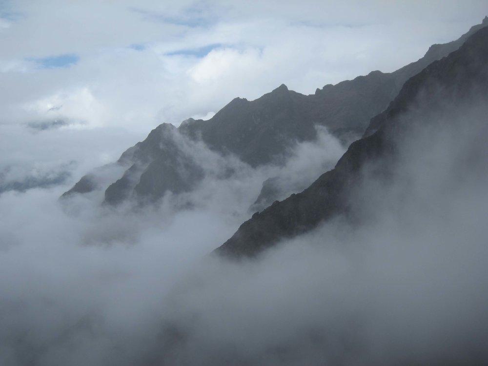 Runkurakay   Pass, Inca Trail