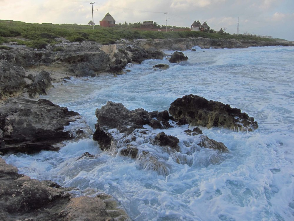 Near Punta Sur,   Isla Mujeres