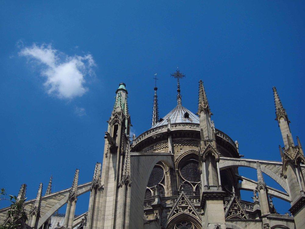 Cathédrale Notre Dame de Paris, Île de la Cité