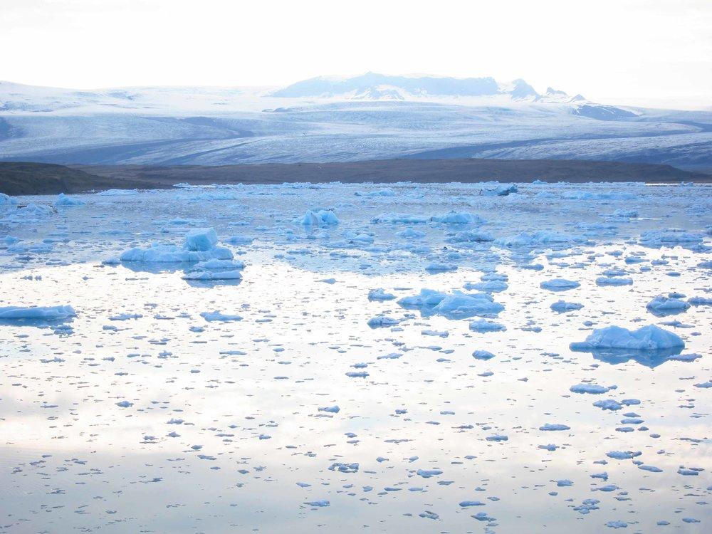 Jökulsárlón, near Vatnajökull National Park