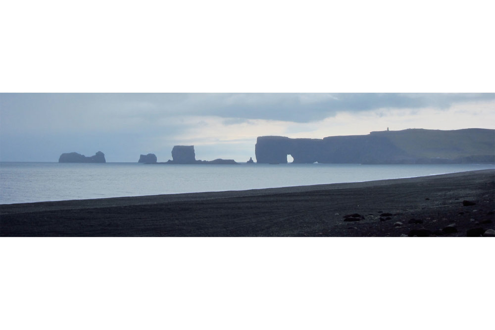 Beach at Vík í Mýrdal